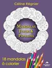 Mandalas fleurs et papillons